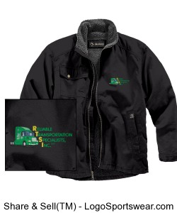 Dri Duck Men's Endeavor Jacket with Sherpa Lining Design Zoom